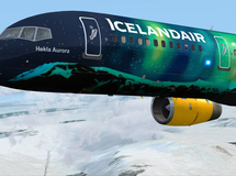Icelandair Flugzeuglackierung