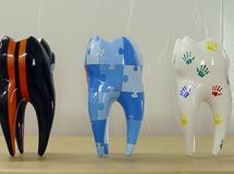 Objektlackierung, Objekt Bemalung, Figurenbemalung, Skulptur, Figurengestaltung, Lackierung, Werbefiguren, 3D Figuren, 3D Objekte, Plastiken, Werbelackierung, Airbrushlackierung, Deko Figuren, Dekoration, Giant Art, Zahnskulpturen, Zahnarzt, Zahnärzte