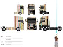 Graffitikunst, MAN, Tattoo Trucks, Airbrush, Peter Maffay, smart art, Airbrush Lackierung