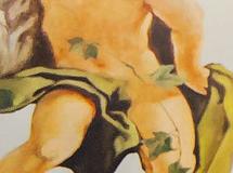 Wandmalerei, Wandbemalung, Wandgemälde, Wandkunst, Wandbild, Illusionsmalerei, 3D Malerei, 3D Bild, Perspektivmalerei, Decken Bemalung, Deckenmalerei, Putten, Engel, al Fresco, Freskenmalerei, Seidensticker Store, Essen, Kuppelbemalung, sakrale Malerei