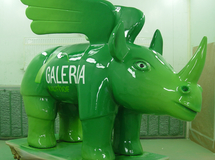 Objektlackierung, Objekt Bemalung, Figurenbemalung, Display, Skulptur, Figurengestaltung, Lackierung, Werbefiguren, 3D Figuren, Plastiken, Werbelackierung, Airbrushlackierung, Figuren bemalen, Deko Figuren, Dekoration, Do Rhino